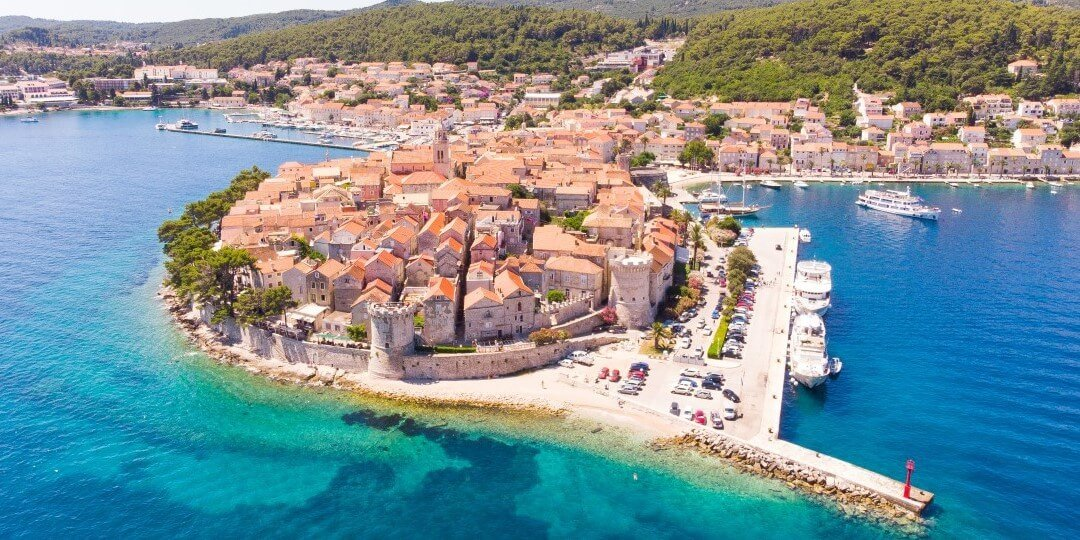 Croatia boat tour - Korčula 1